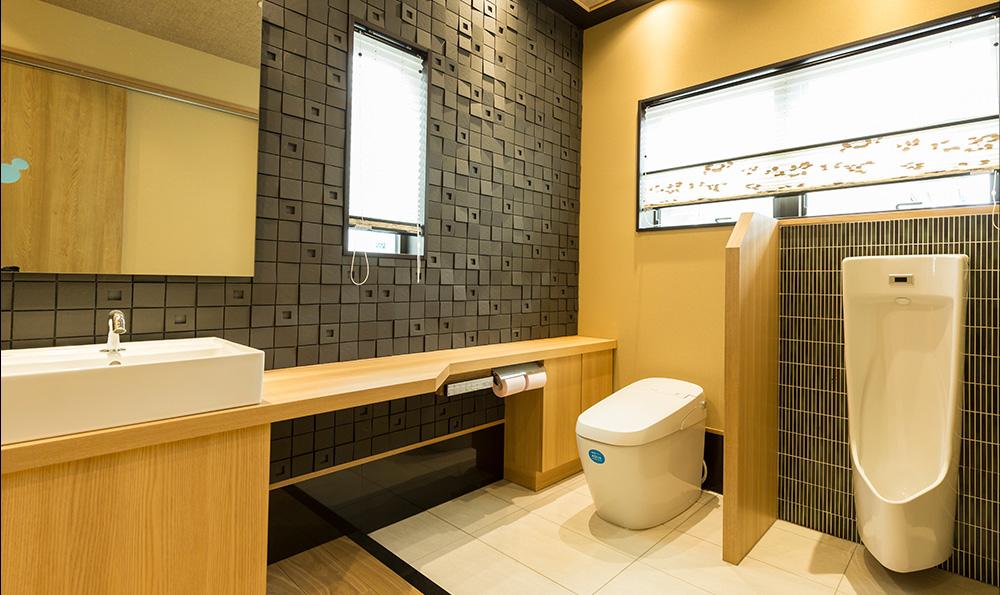 匠の技を活かしたトイレ